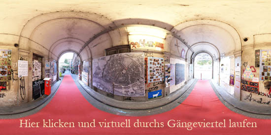 Virtuelle Tour Gängeviertel Hamburg
