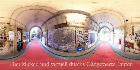 Virtuelle Tour Gängeviertel Hamburg