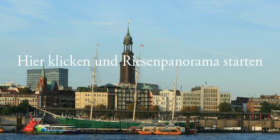 Gigapixel Panorama Landungsbruecken Hamburg
