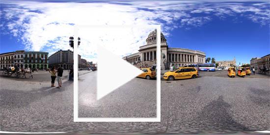 Panoramafotografie Havanna